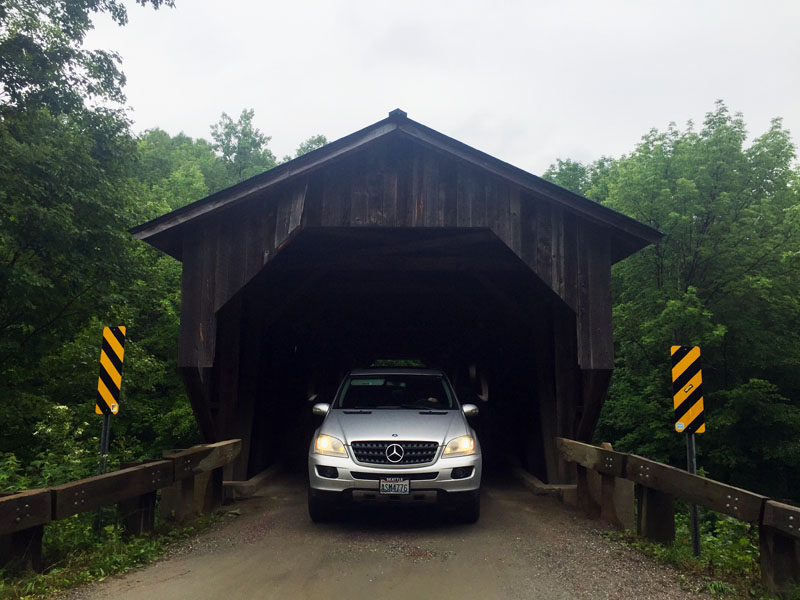 Covered-Bridge-Near-Smugglers-Notch-Vermont