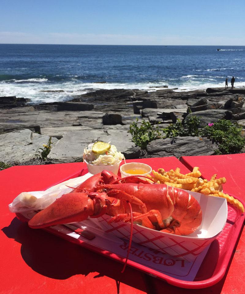 Lobster-Dinner-Cape-Elizabeth-Maine